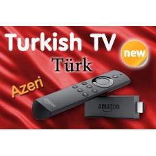 Turkish TV Channels on Amazon Fire TV Stick with Alexa - Türkçe ve Azeri
