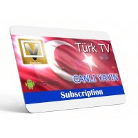 Live Turkish TV App (Software) for Android 5.1+ Devices & Amazon Fire TV  - One Year Subscription - Türk ve Azeri