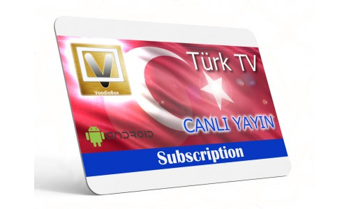Live Turkish TV App (Software) for Android 5.1+ Devices & Amazon Fire TV  - One Month Subscription - Türk ve Azeri